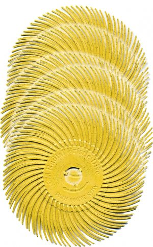 Radial Bristle Discs, 3″ diameter, 6-Packs