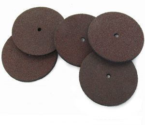 Rubber Bonded Abrasive Discs, 5pks choice of 2 sizes