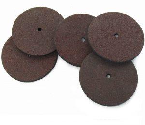 Rubber Bonded Abrasive Discs, 5pks choice of 2 sizes