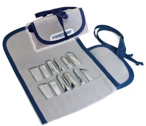 AK510 Chisel Set in Canvas Pouch, 12 chisels / or select Pouch only