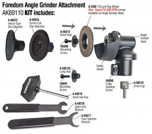 2″ Angle Grinder Attachment