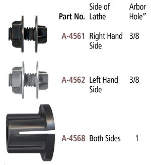 Accessory Adapters for the Foredom Bench Lathe