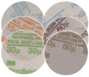 2 Ceramic Purple Psa Discs 60 80 Or 220 Grit Foredom