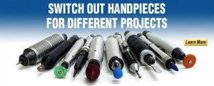 Switch Out Handpieces For Different Projects