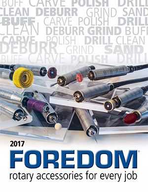 2017 Foredom Rotary Accessories Catalog
