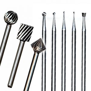 Steel Cutters, High Speed Fluted Burs