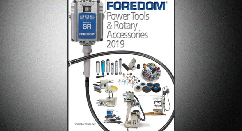 Foredom's new 2019 Catalog is complete!