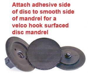A-10040-5 PSA Velcro Hook Discs, 5-Pk