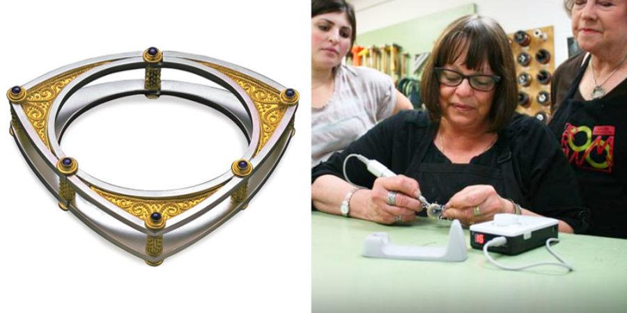 Ronda Coryell, Certified Master Bench Jeweler, Designer, Educator, World Expert on Argentium® Silver rondacoryell.com