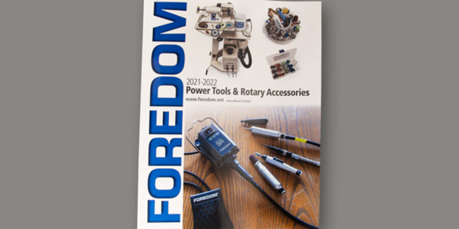 Foredom's new 2021-2022 Catalog has arrived!