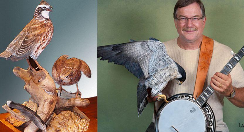 Floyd Scholz, Master Carver, Teacher vermontraptoracademy.com
