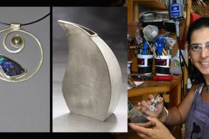 Lisa Slovis Mandel, Metalsmith, Jeweler, Teacher lisaslovis.com