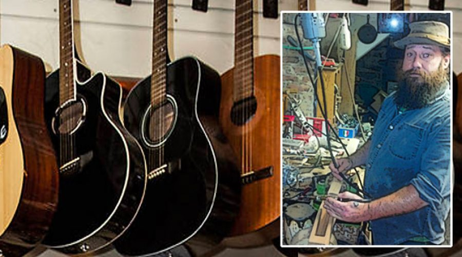 Geoff Wiley, Luthier & Owner of Jalopy Theater and Music School, Brooklyn, NY jalopy.biz