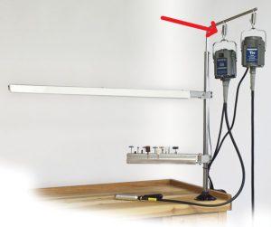 UAL015 Spring Hanger Hook for Motor Hanger MAMH-13